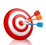 target1883_1_ cel kolorowe strzałki ilustracji