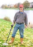 target1997_0_ metal rzekę Fotografia Royalty Free