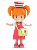 target2006_1_ książkowy dzieciak Obrazy Royalty Free