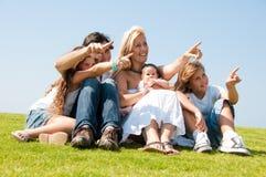 target2011_0_ potomstwa atrakcyjna rodzina Obrazy Stock