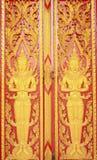 target2015_1_ stylowego tajlandzkiego tradycyjnego drewno Zdjęcia Stock