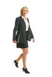TARGET203_0_ w kierunku chodząca kobieta fotografia stock