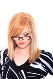 target2153_0_ kobiety biznesowi szkła Zdjęcie Stock