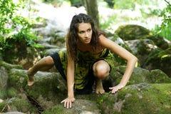 target223_1_ głębocy lasowi kobiety potomstwa Obrazy Stock