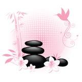 target2239_0_ zdrój target2237_0_ bambusowe ptasie skały ilustracja wektor