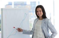 target2252_0_ bizneswomanu rynku zapas zdjęcie stock
