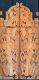 target2327_1_ stylowego tajlandzkiego drewno Zdjęcia Stock