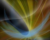 target233_0_ kreskowy wzorzystego tła czerń Obrazy Royalty Free