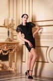 target246_0_ retro stylowa kobieta Obrazy Royalty Free