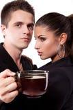 target2478_0_ mężczyzna herbaty kobieta Obraz Royalty Free