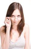 target250_0_ kobiet potomstwa piękni szkła fotografia royalty free