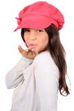 target2599_1_ osiem dziewczyn buziaka starego ładnego rok Zdjęcie Stock