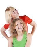 target2759_0_ studio blond dziewczyny Obrazy Royalty Free