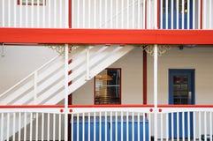 target2916_0_ pokładu schody Fotografia Royalty Free