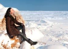 TARGET309_0_ w zima słońcu Zdjęcia Stock