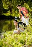 TARGET313_0_ W Dzikiej Naturze Fotografia Royalty Free