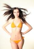 target316_0_ kobiety ładny szczupły swimsuit obraz royalty free