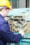 target3398_0_ dźwignięcia machinist mechanizmu spanner Obrazy Royalty Free
