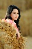 TARGET345_0_ naturę piękna dziewczyna fotografia royalty free
