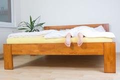 target3470_1_ końcówka łóżkowi cieki zdjęcia stock