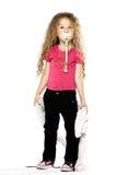 target348_1_ małego pacyfikator powszechna dziewczyna obraz royalty free