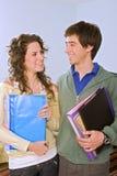 target3485_1_ studing nastolatków obrazy stock