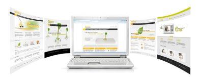 target358_0_ internety Obraz Stock