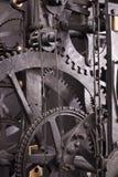 TARGET400_0_ średniowieczny astronomiczny zegar - wnętrze Zdjęcie Royalty Free