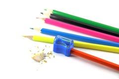 TARGET41_1_ ołówek Zdjęcie Stock