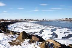 target416_1_ blisko dennej zima Zdjęcie Royalty Free