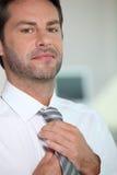 target4195_0_ krawat jego mężczyzna Fotografia Royalty Free