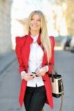 target4619_0_ w górę kobiety uśmiechniętego główkowanie Obraz Royalty Free