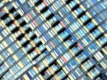 TARGET50_1_ z balkonami Obraz Stock