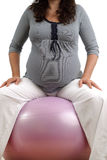 target525_0_ kobieta w ciąży obrazy stock