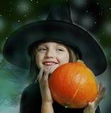 TARGET534_1_ bani mała czarownica Fotografia Stock