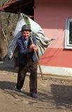 target563_1_ trawy mężczyzna starego stos Zdjęcie Stock