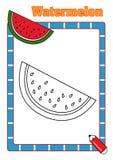 TARGET572_1_ książka, arbuz ilustracji