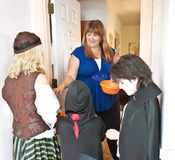 TARGET6_1_ cukierek Halloweenowego Cukierek obraz royalty free