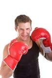 target701_0_ czerwonych potomstwa bokser rękawiczki obraz stock