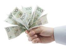 target713_1_ ręka zawrzeć pieniądze ścieżki połysk Zdjęcia Stock