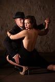 TARGET740_1_ Partner tango Tancerz Partner Fotografia Royalty Free