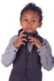 TARGET749_1_ muzyka indiańska chłopiec Zdjęcie Stock
