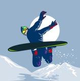 target75_1_ śnieg Obrazy Stock