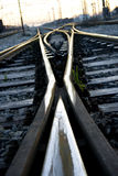target750_1_ linię kolejową Obrazy Stock