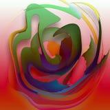 TARGET764_1_ na czerwonej planecie ilustracja wektor