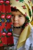 TARGET765_1_ w tradycyjnych sukniach Fotografia Stock