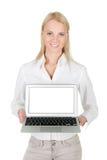 target781_0_ kobiety biznesowy laptop Obrazy Royalty Free
