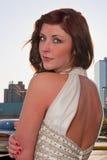 target789_0_ nad naramienną kobietą Fotografia Stock