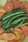 TARGET794_1_ Zdrowych Warzywa Zdjęcie Stock