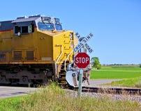 TARGET797_1_ pociąg Obraz Stock